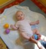Gimnastyka dla niemowląt z elementami masażu